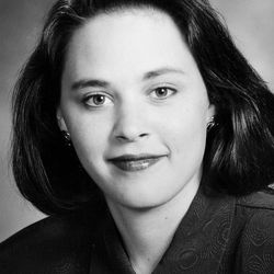 Becky Lockhart, the first woman to serve as Utah House speaker, died at her home Saturday, Jan. 17, 2015, from an unrecoverable and extremely rare neurodegenerative brain disease. Lockhart, pictured in 2002, was 46.