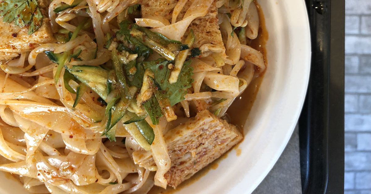 Xian Famous Foods Spicy Cold Skin Noodles Are Vital Nyc Summertime