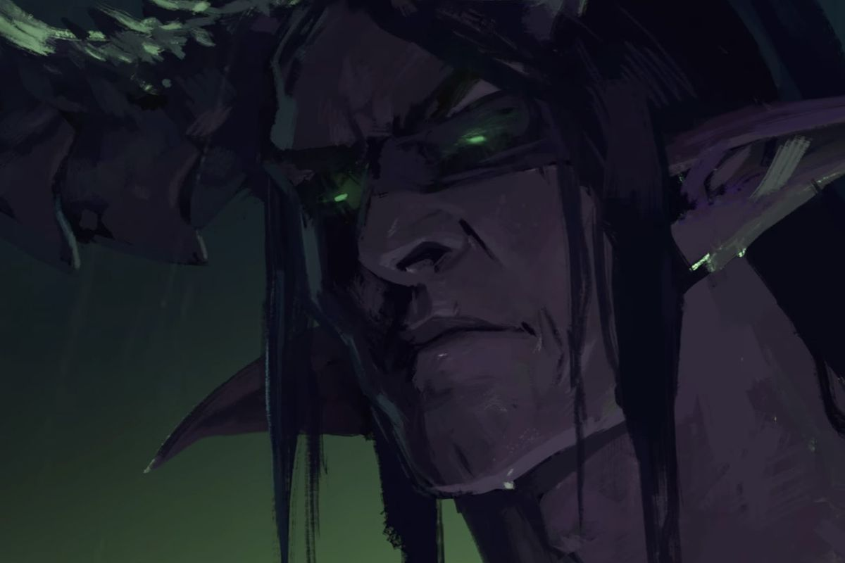World of Warcraft: Legion Illidan art