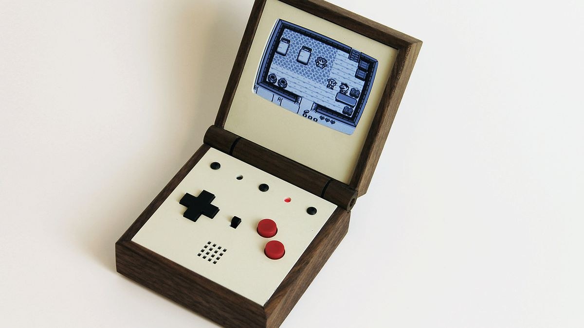 Pixel Vision Is A Beautiful Handmade Portable Gaming System The Verge Making Gameboy Systems Circuit