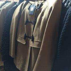 Zandra coat, $390 (was $650)