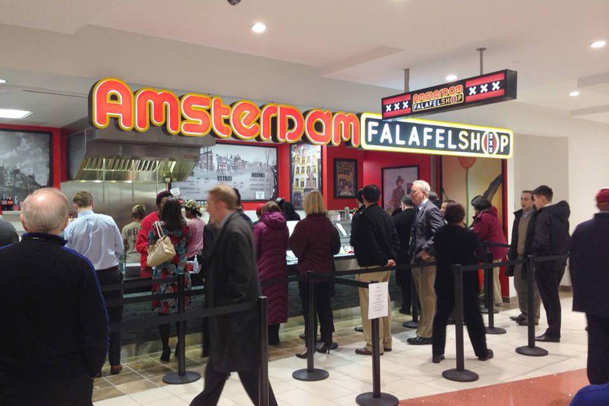 An Amsterdam Falafelshop