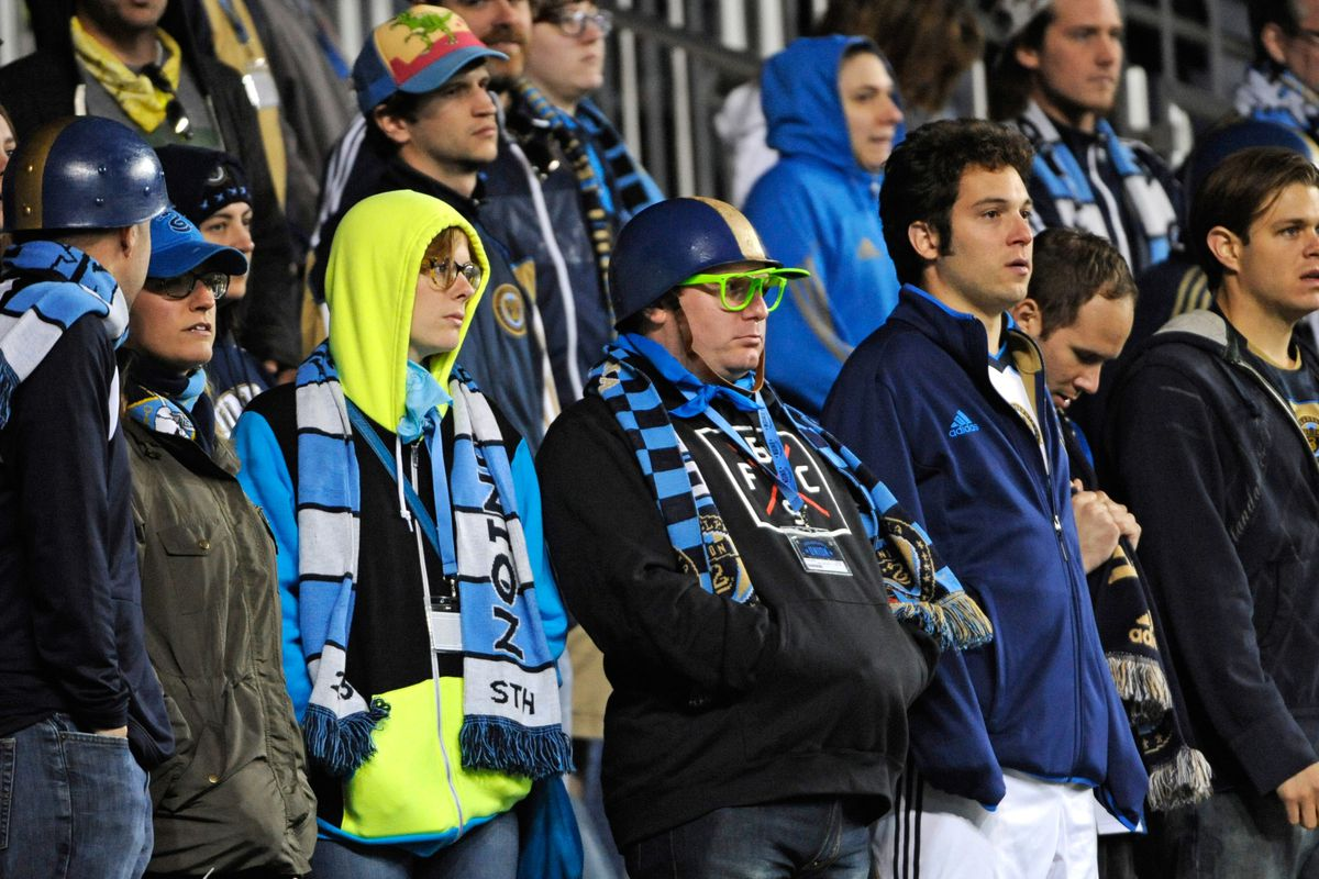 A group of Philadelphia Union fans are trying to care.