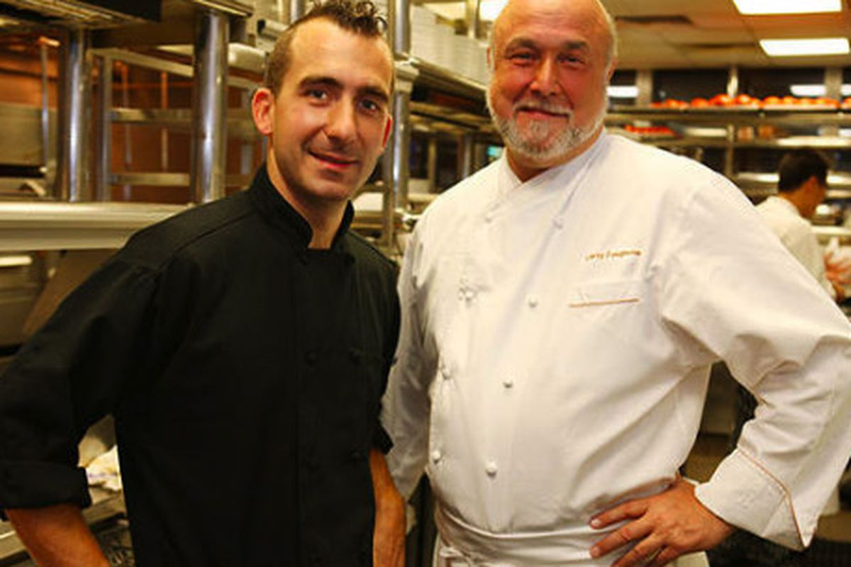 Marc and Larry Forgione