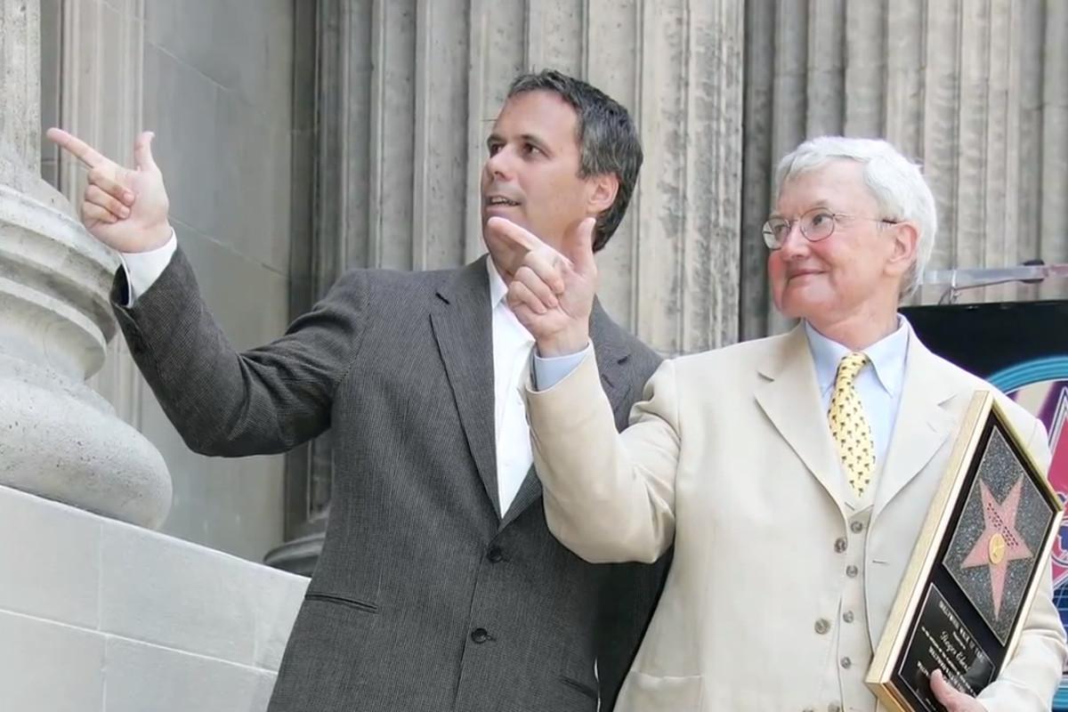 Richard Roeper and Roger Ebert (Reelz Channel via YouTube)