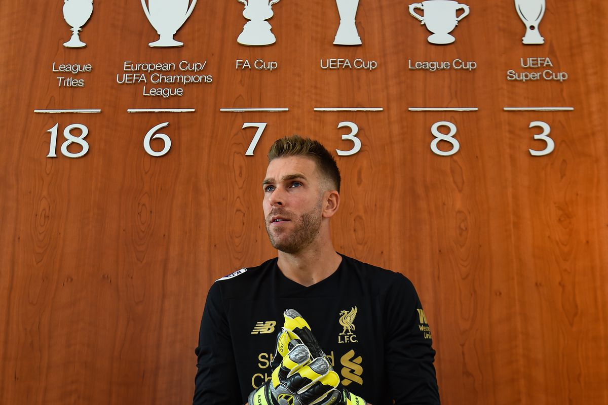 Liverpool Unveil New Signing Adrian