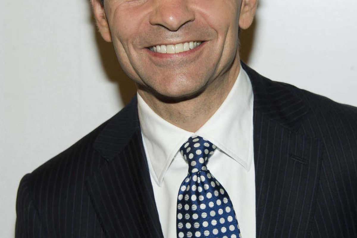 """FILE - In a Monday, Dec. 5, 2011 file photo, George Stephanopoulos attends the Baby Buggy 10th Anniversary Gala, in New York. Stephanopoulos, the co-host of ABC's """"Good Morning America"""" during the week and host of the Sunday political talk show """"This Week"""