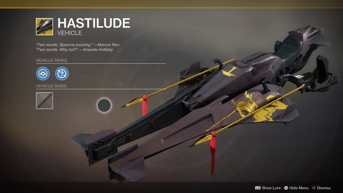 Destiny 2 Exotics List Weapons Armor Sparrows And More