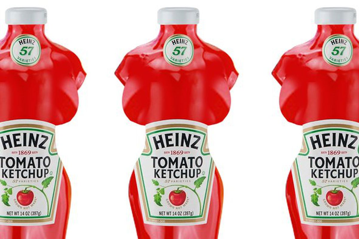 Squirt Heinz Unveils New Ketchup Bottle In The Shape Of A -5425