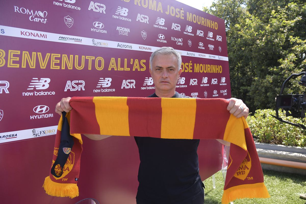 AS Roma New Coach Jose Mourinho Arrives In Rome