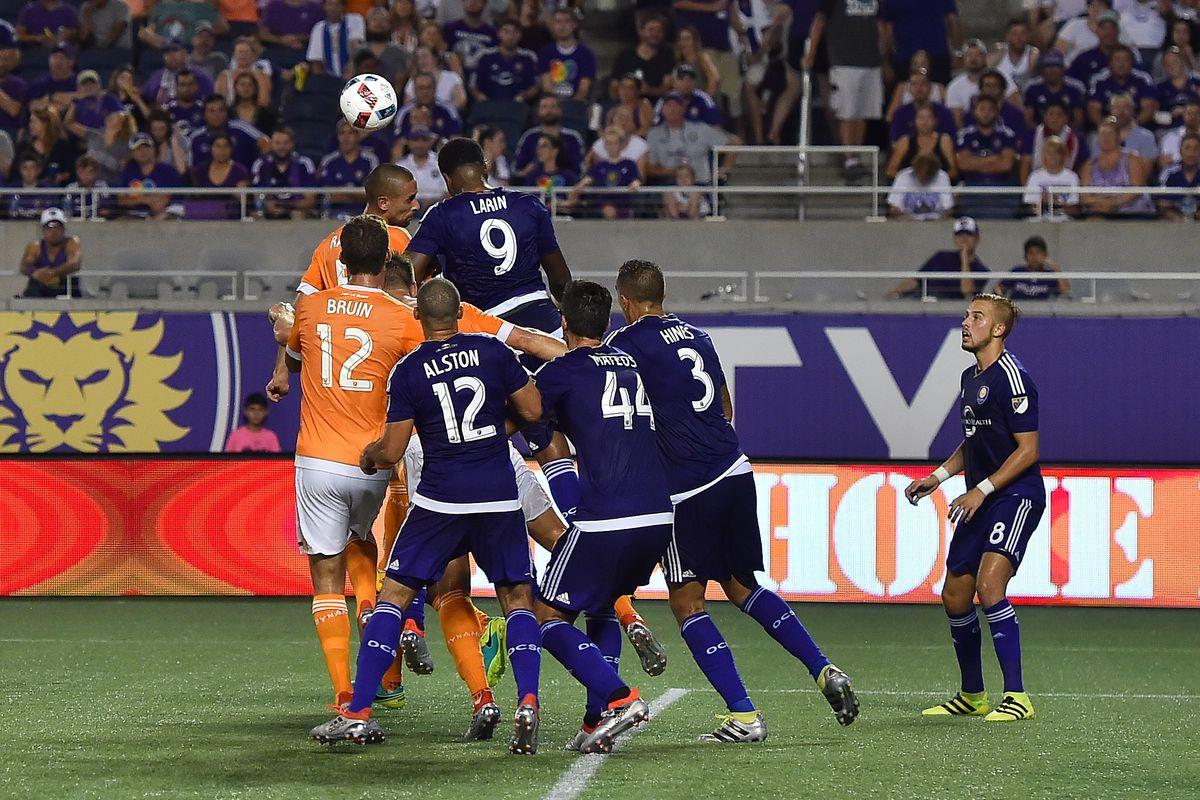 MLS: Houston Dynamo at Orlando City SC