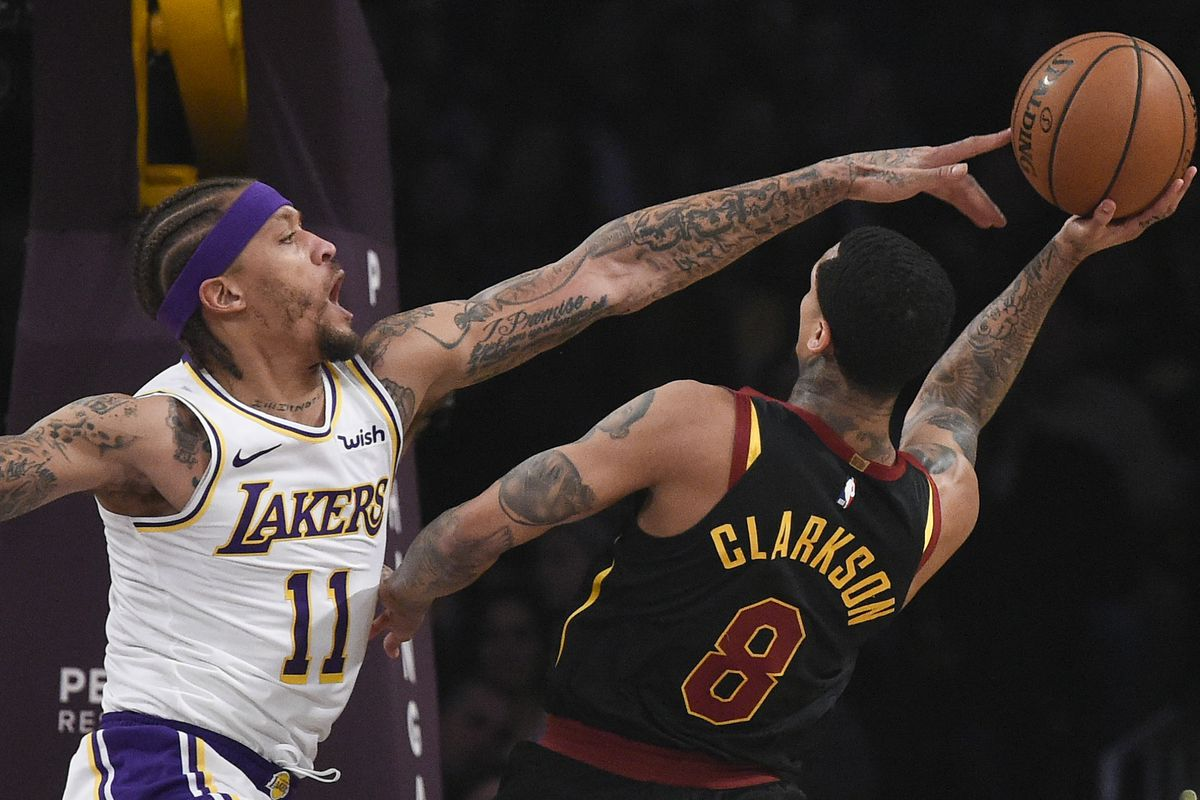 promo code 7731c 206bd Lakers vs. Cavaliers Final Score  Lack of effort leads to one of worst  losses of season against Cleveland - Silver Screen and Roll