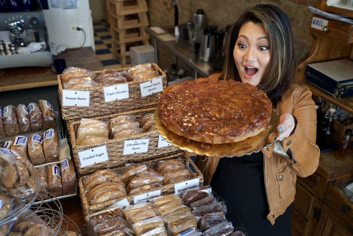 Where does one even begin at Taste of Heaven Bakery and Cafe in Andersonville? | Eliza Davidson/Sun-Times