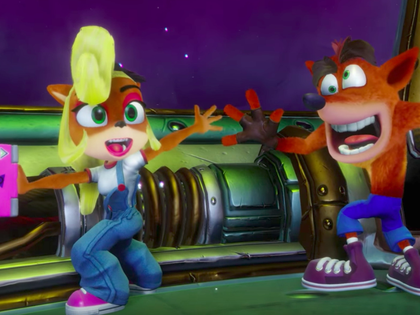 Coco Bandicoot Playable In Crash N Sane Trilogy Polygon