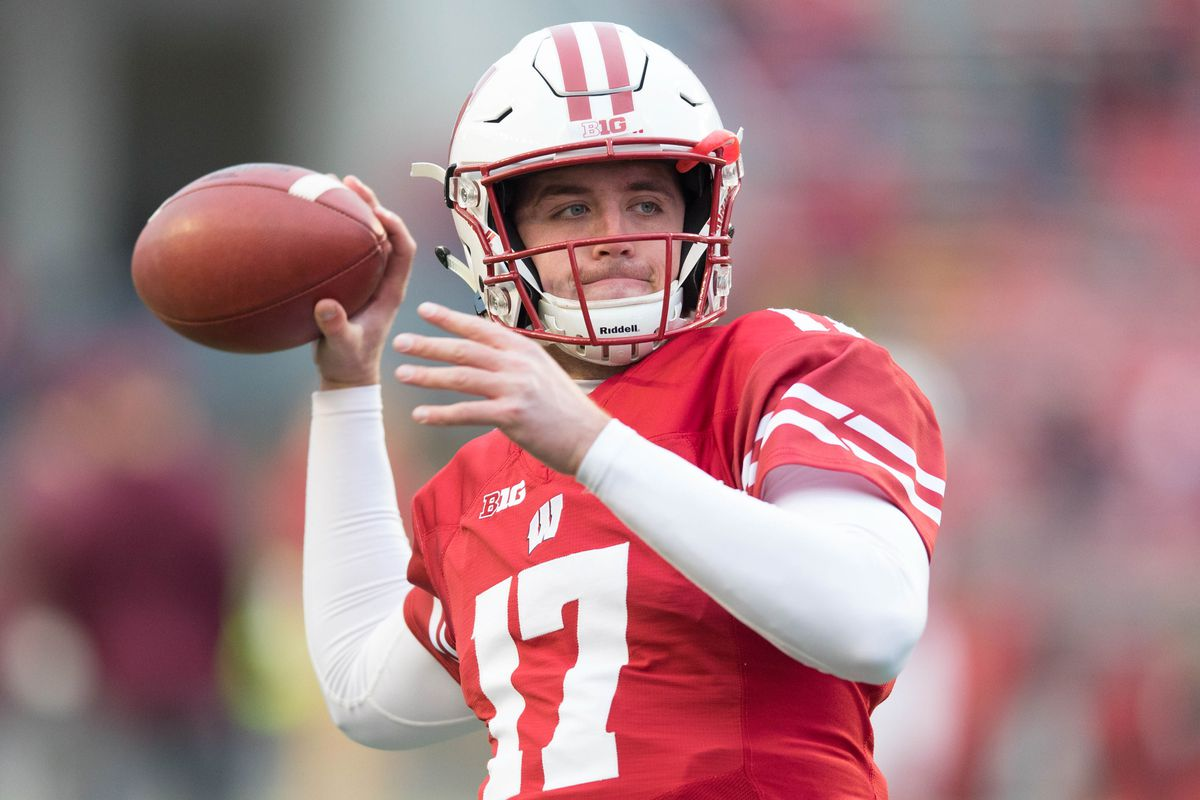 Wisconsin Burning Jack Coan S Redshirt For The Pinstripe