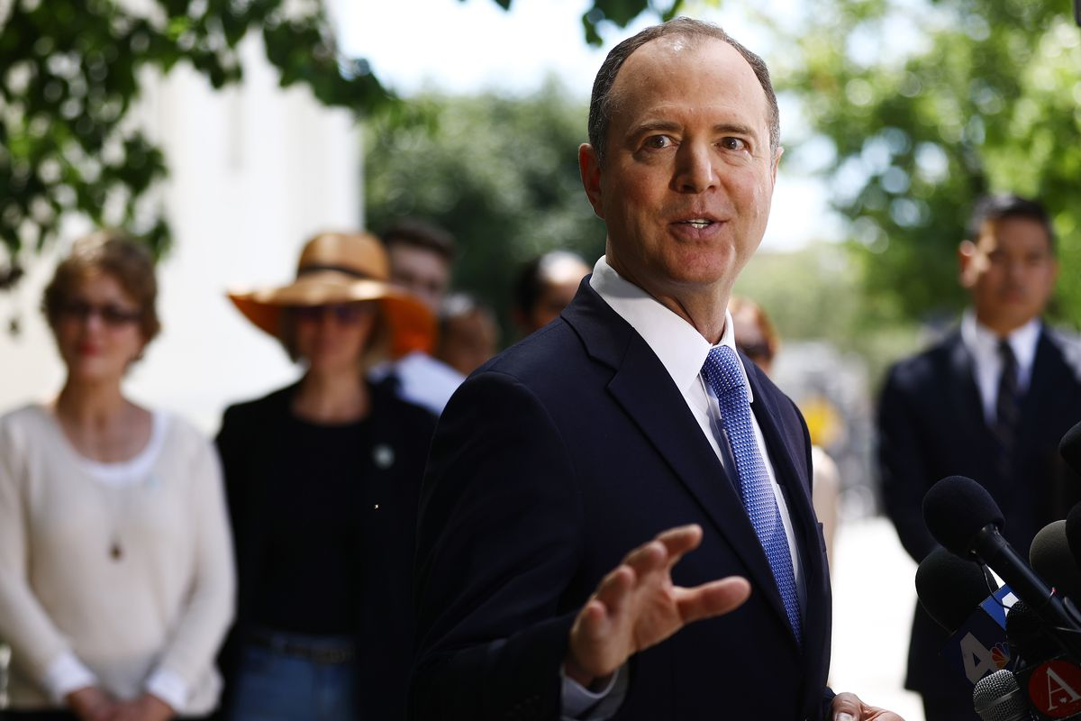 House Intelligence Chair Adam Schiff Holds Press Conference On Mueller Report