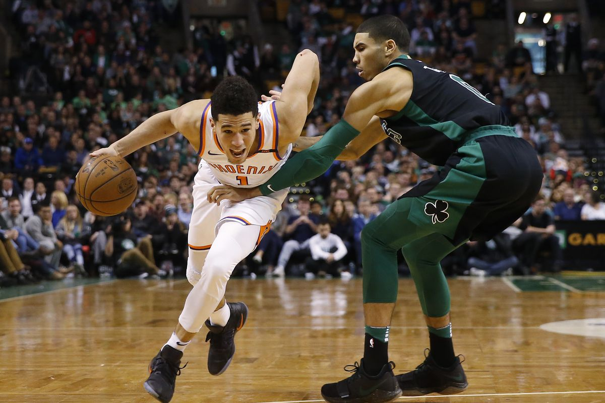 38090a6a71b1 Devin Booker s All-Star emergence has accelerated Ryan McDonough s timeline  to action
