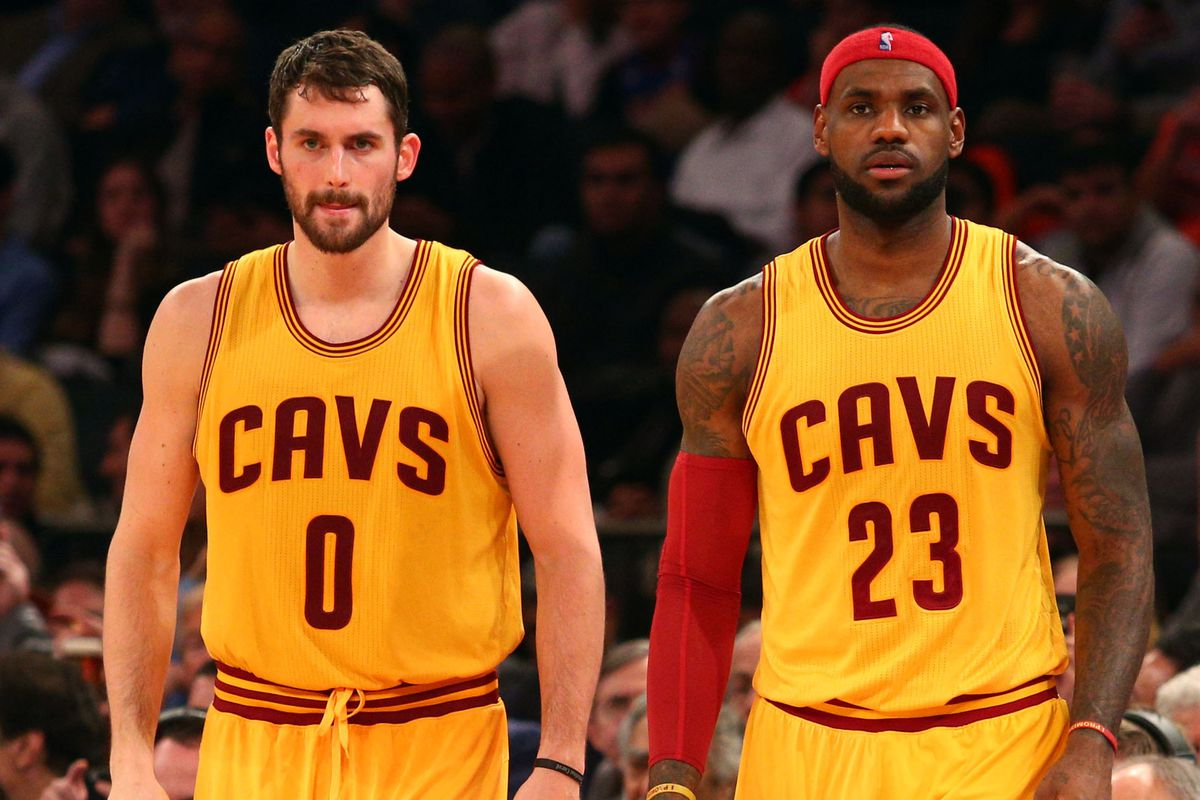 c30d78f34078 LeBron James  frustrated  by his relationship with Kevin Love ...