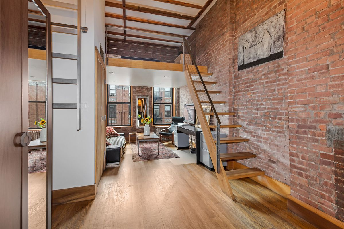 Tiny Home Designs: For $460K, An Industrial-chic East Village Studio With A