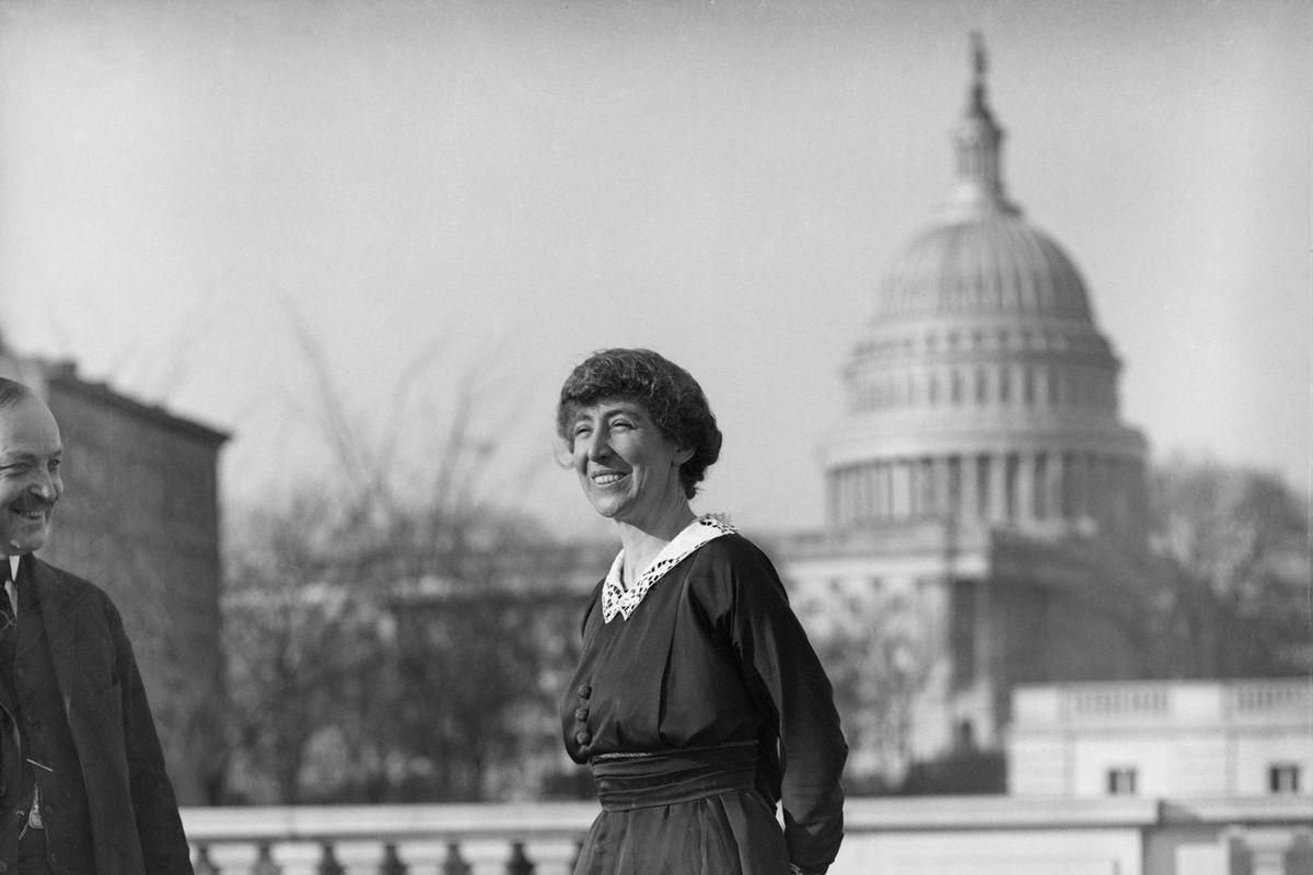 Congresswoman Jeannette Rankin