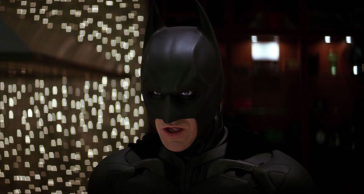 the dark knight costume and cowl