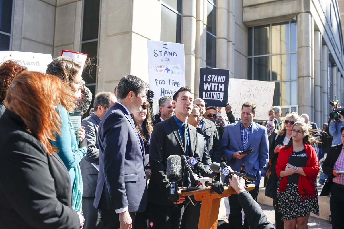 Pro-Life Activist David Daleiden Appears In Court Over Planned Parenthood Video Sting