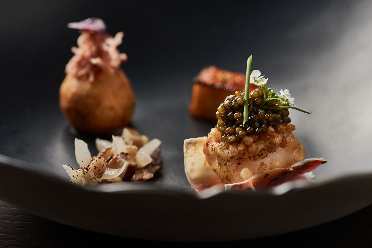 The exquisite fare at Yugen earned the tony West Loop eatery one Michelin star.