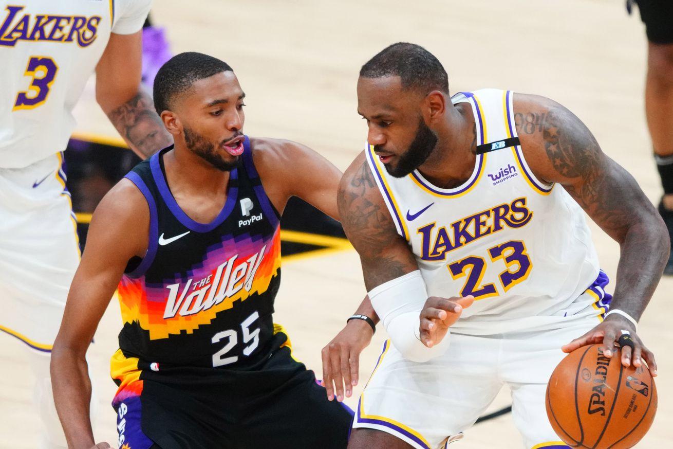 NBA: Playoffs-Los Angeles Lakers at Phoenix Suns