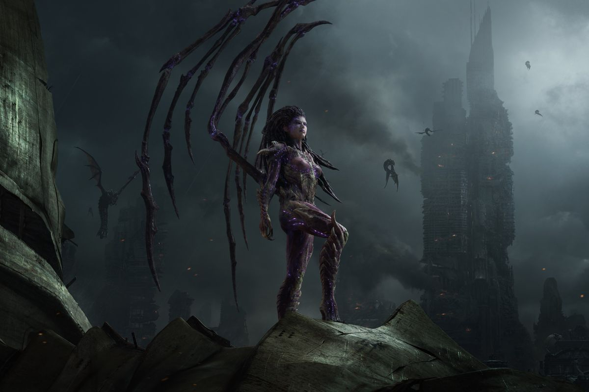 Kerrigan appears in a CGI short from StarCraft 2