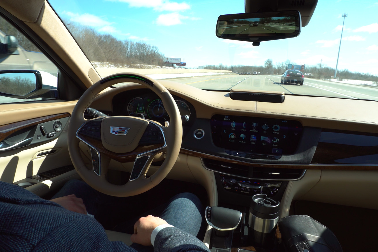 Cadillac takes aim at tesla s autopilot with hands free super cruise technology available this fall the verge