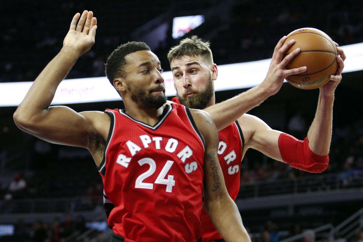 NBA: Preseason-Toronto Raptors at Detroit Pistons