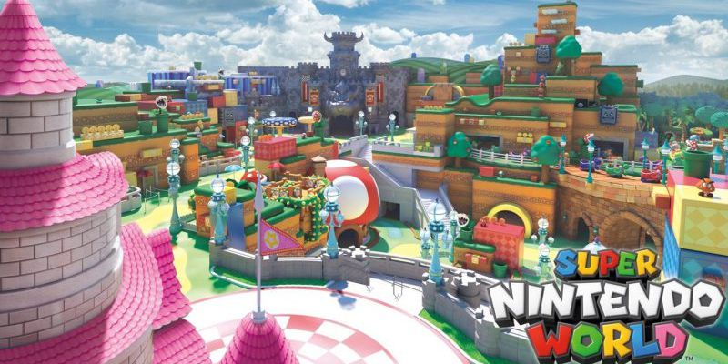 Japan's Super Nintendo World theme park will feature smart Mario-themed wristbands