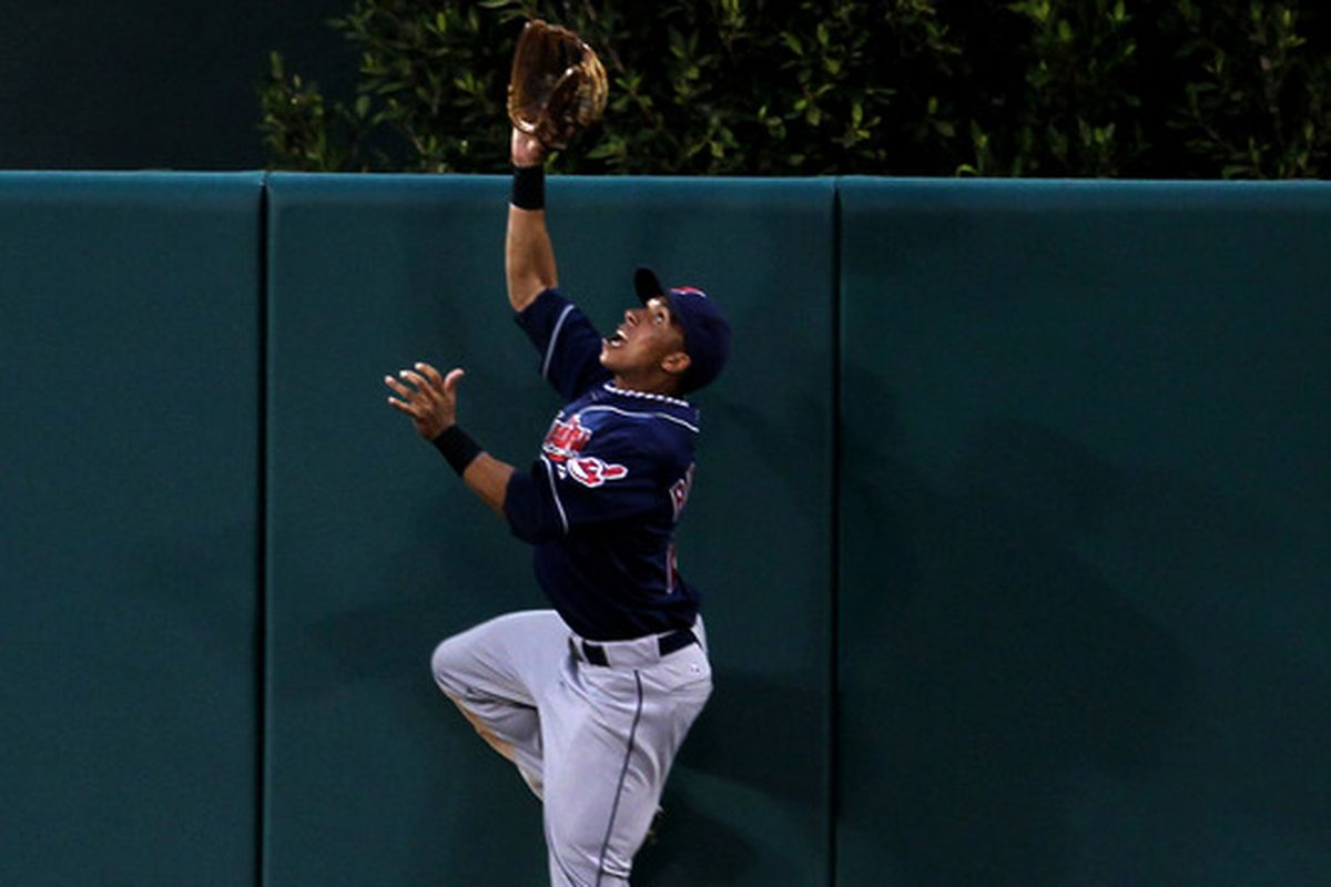 Michael Brantley filled in for Grady Sizemore in 2010, and may be back in center in 2011.