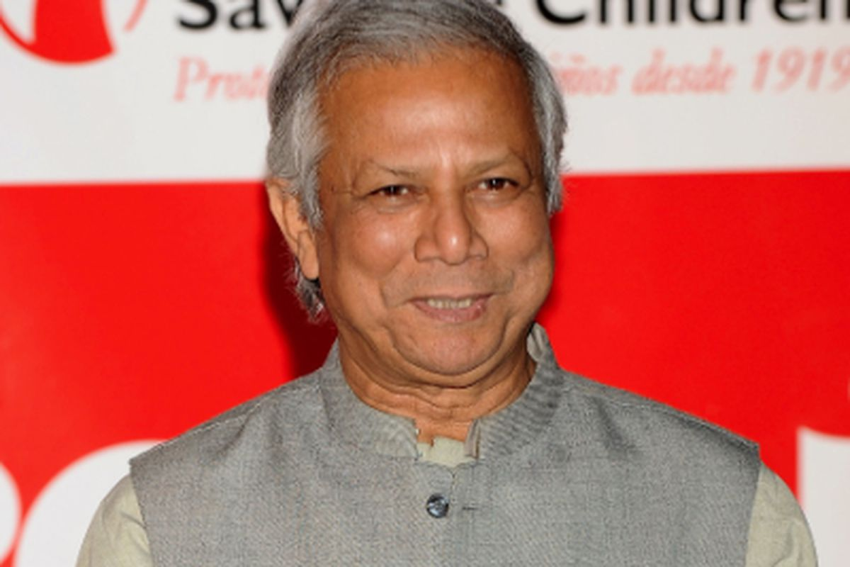 Mohammad Yunus, via Getty