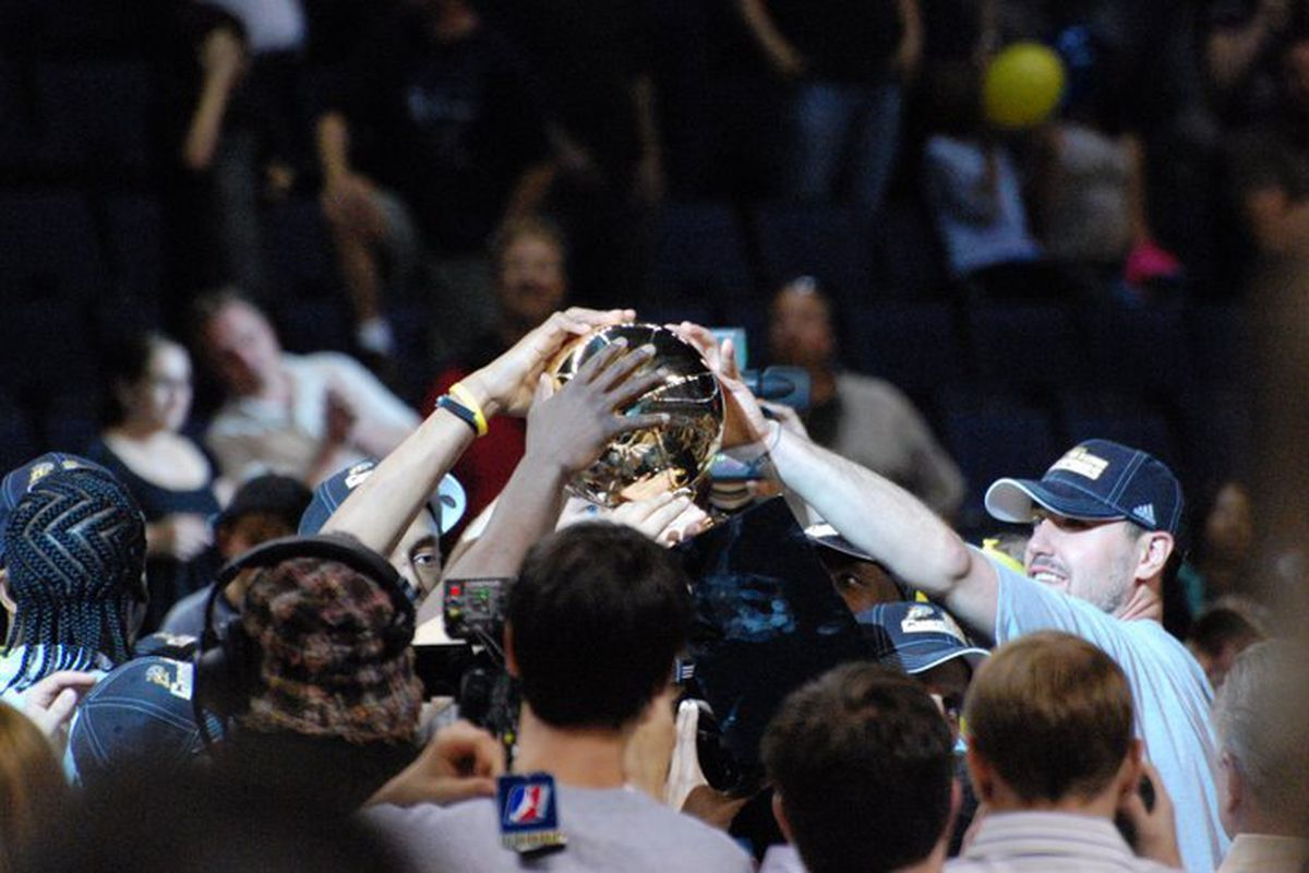 """The Colorado 14ers winning the championship is just one development discussed in this look at the D-League offseason, using quotes from """"Dave Chappelle's Block Party."""""""
