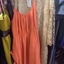 Rebecca Taylor (orange dress), $125 (was $595)