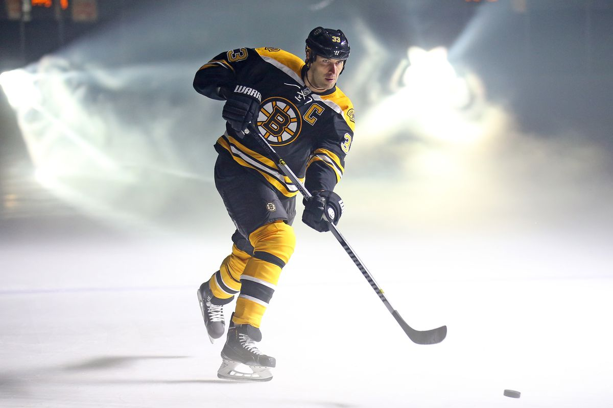 Zdeno Chara with special effects