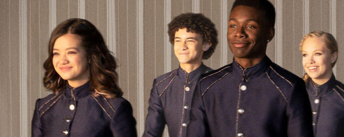 royal teens in uniform