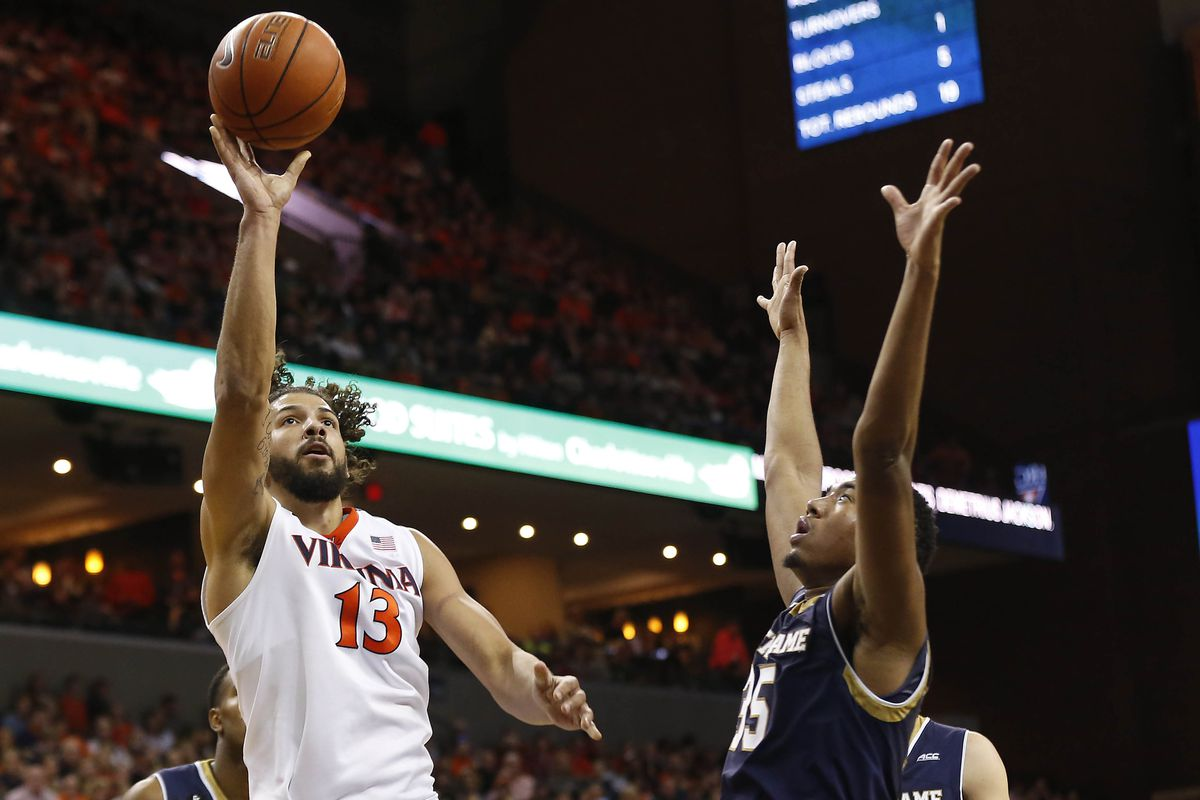 AG and the Hoos frontcourt should have a big advantage against the Hokies.