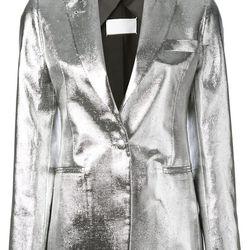 "Metallic blazer, <a href=""http://www.farfetch.com/shopping/women/maison-martin-margiela-metallic-blazer-item-10657177.aspx"">Maison Martin Margiela</a>, $1,650"