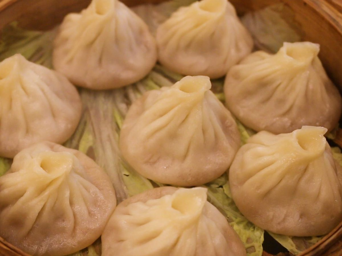 Soup dumplings at Hing Kee in Chinatown.   Brian Rich/Sun-Times