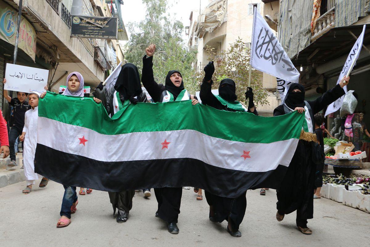 nusra supporters