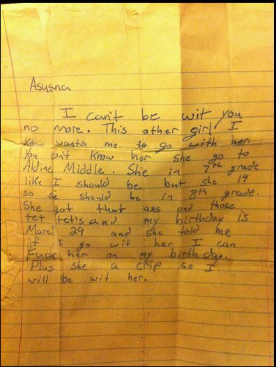 7 Ridiculous Break-Up Notes - Funny Or Die