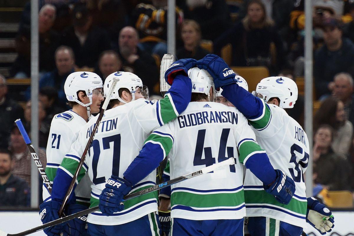 NHL: Vancouver Canucks at Boston Bruins