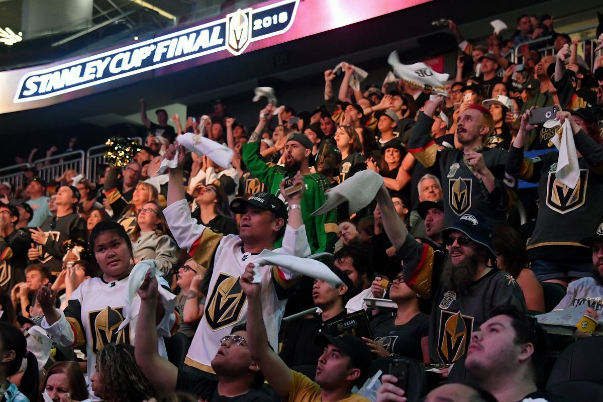 Vegas Golden Knights Host Official Road Game Watch Party For Game Four Of Stanley Cup Final