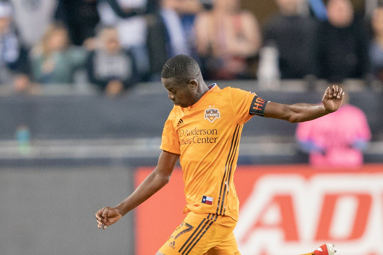 MLS: Houston Dynamo at San Jose Earthquakes