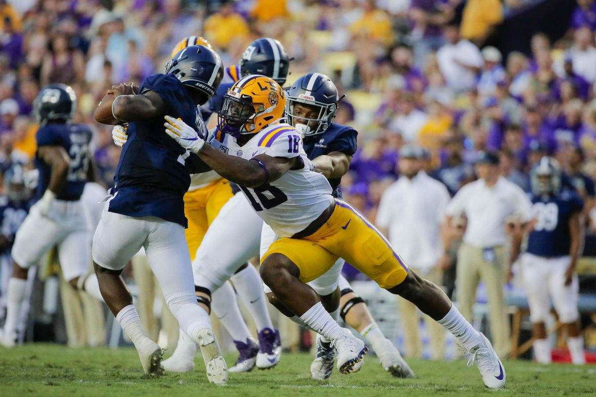 NCAA Football: Georgia Southern at Louisiana State