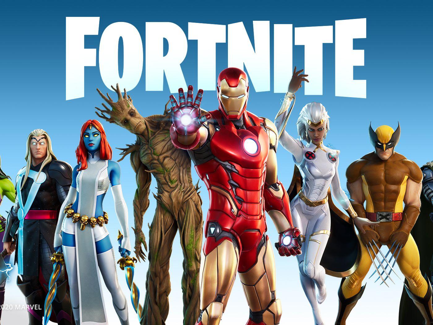 Fortnite Chapter 2 Season 4 Battle Pass All Marvel Skins Polygon