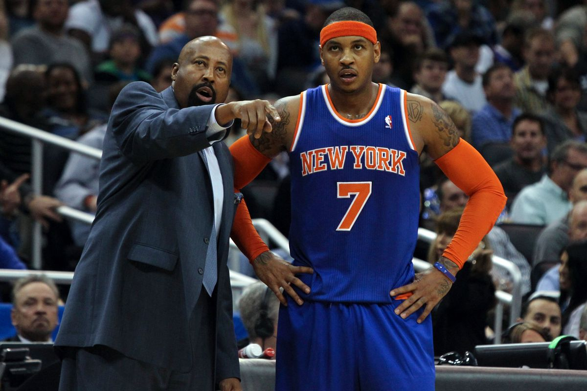 Mike Woodson calls out Carmelo Anthony after Knicks loss to
