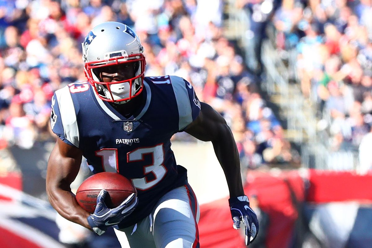 sneakers for cheap c40d0 8343a New England Patriots links 8/23/18 - Receiving corps in spin ...
